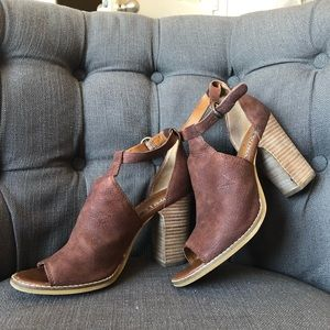 Lucky Brand leather booties